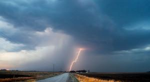 Pogoda na 2 maja: silny wiatr, intensywne opady deszczu i burze