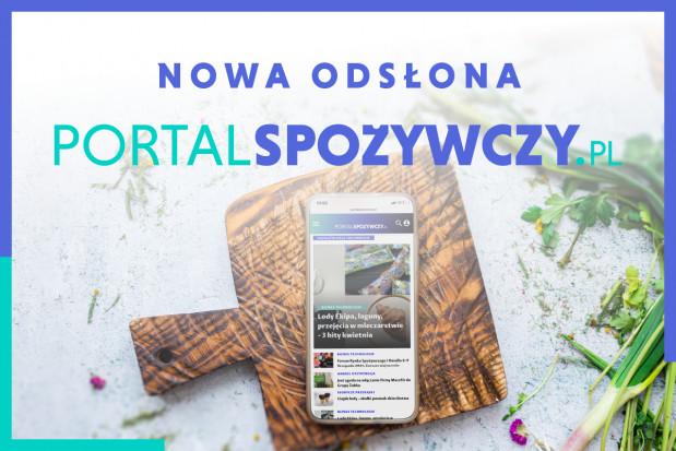 Portalspozywczy.pl w nowej odsłonie. Zobacz jakie zmiany!