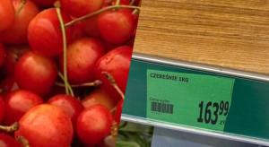 Horrendalna cena czereśni w Polsce- ponad 163 zł za kilogram