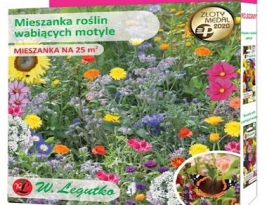 W.Legutko sprzedaje mieszanki nasion do stworzenia łąk kwietnych w Lidlu