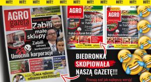 AgroUnia walczy z Biedronką. Na gazetki i ziemniaki