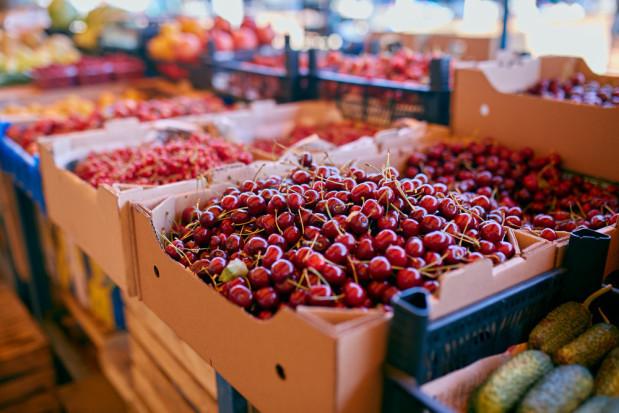 Importowane czereśnie - jakie ceny w hurcie?
