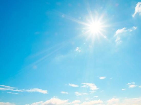 Poniedziałek bardzo ciepły i słoneczny - do 28 st. C