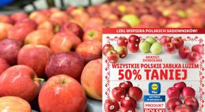 Lidl kupił od sadowników zapasy ubiegłorocznych jabłek