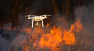Portugalia: Straż pożarna używa dronów w walce z pożarami lasów
