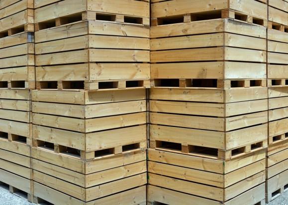 Skrzyniopalety nie stanieją. Drewno nadal ma być drogie