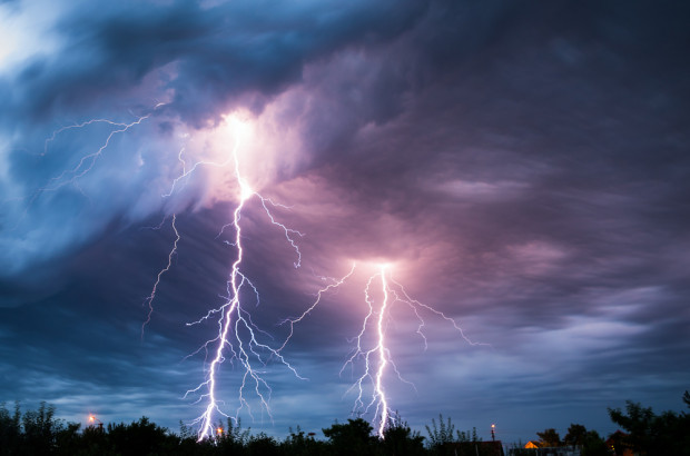 IMGW: noc z burzami na terenie całego kraju