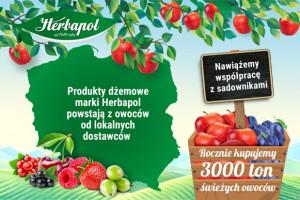 """""""Herbapol-Lublin"""" S.A. zaprasza do współpracy lokalnych dostawców owoców"""