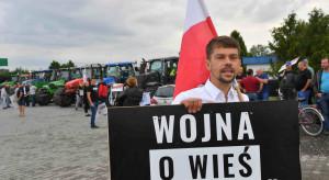 Kołodziejczak podczas blokady: sytuacja polskiego rolnictwa jest tragiczna