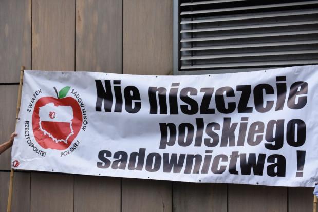 Związek Sadowników RP zapowiada protest