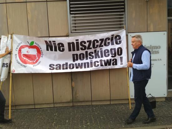 Sadownicy zapowiadają blokadę krajowej 50-tki w Czaplinku - 25 sierpnia