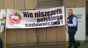 Protest sadowników - 25 sierpnia w Czaplinku, gm. Góra Kalwaria