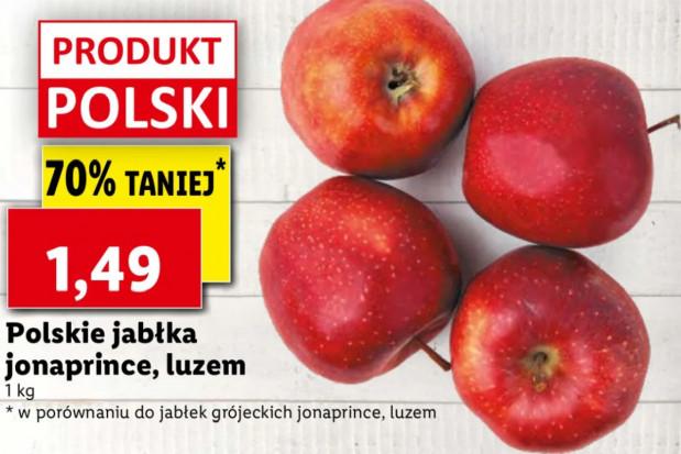 Lidl i Biedronka z niskimi cenami jabłek. To szkoda dla sadowników!