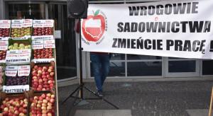 Protest sadowników: Nie chcemy nadmiernych korzyści, chcemy tylko przetrwać!