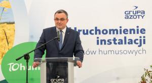 Uruchomiono instalację kwasów humusowych w Grupie Azoty