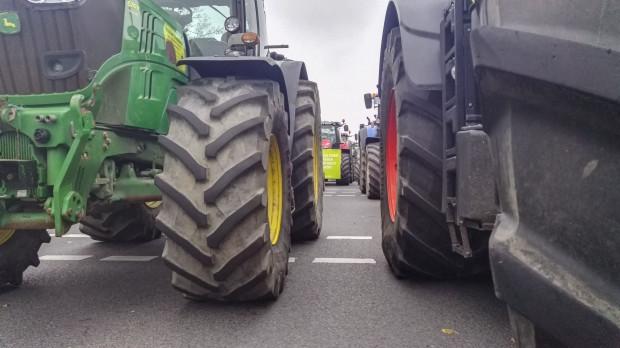 Rolnicy w Madrycie protestują. Chcą obrony WPR i sprawiedliwych cen