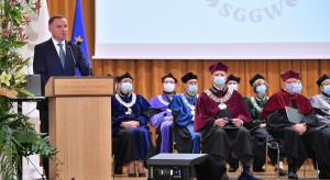 Prezydent na SGGW: dziękuję za wkład polskich uczelni w rozwój rolnictwa