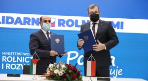 Podpisano polsko-palestyńskie memorandum o współpracy w dziedzinie rolnictwa
