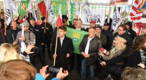 Kołodziejczak po blokadzie Anwilu: Tej sprawy tak nie zostawimy!