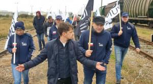 AgroUnia blokuje tory na podkarpaciu przed wywozem polskich nawozów
