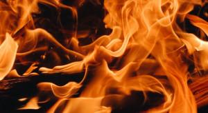 Lubelskie: Płonie około 1200 bel słomy; trwają akcje gaśnicze